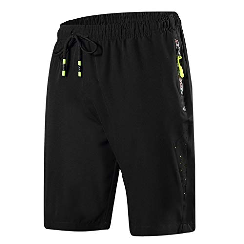 - JJLIKER Men's Active Athletic Performance Shorts Fitted Sport Bodybuilding Workout Gym Running Lifting Pants with Pocket Green