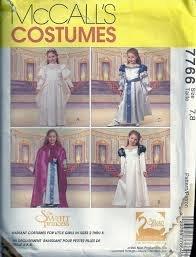 [McCall's Sewing Pattern 7766 Girls Size 3-4 Costume Swan Princess™ Dresses Cape] (Swan Princess Costume)