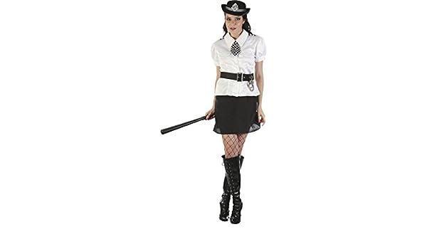 DISONIL Disfraz Policia Mujer Talla L: Amazon.es: Juguetes y ...