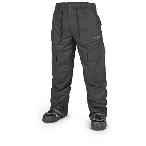 (Volcom Men's Seventy Fives 2 Layer Shell Breathable Pant, Black, Medium)