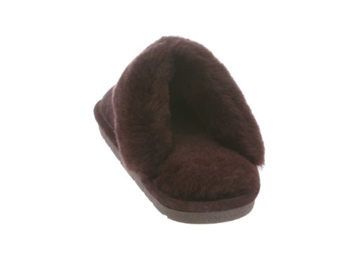 Fuzzies Ladies Cloud Rj's Womens Slippers Scuff Chocolate Nine 4pHPfnZPq