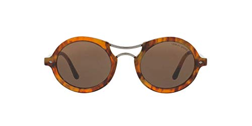 Darkbrown AR8072 Striped Armani Marrón Havana Giorgio Sonnenbrille AqfO1nAS