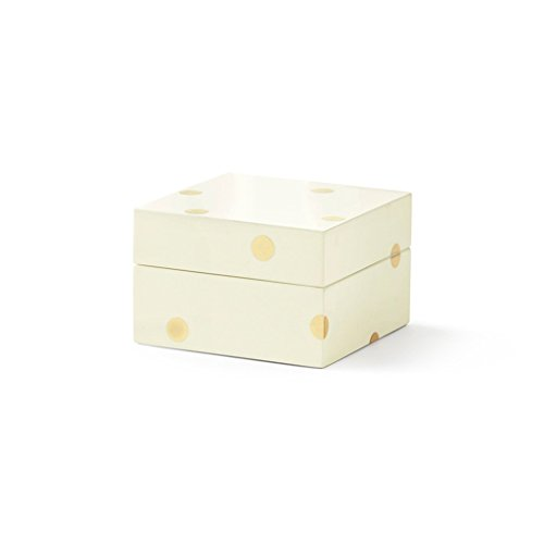 Dot Jewelry - kate spade new york small Lacquer Box - Gold Dot