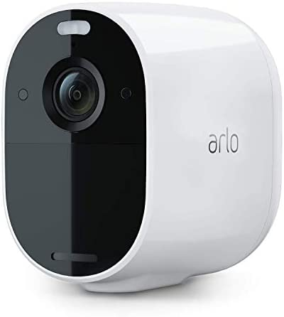 Arlo VMC2030-100NAS Essential Spotlight Camera | Wire-Free, 1080p Video | Color Night Vision, 2-Way Audio, 6-Month Battery, Motion Activated, Direct to Wi-Fi, No Hub Needed | Works with Alexa | White