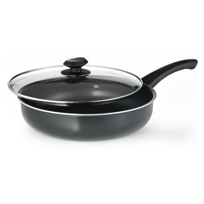 "Elements 11"" Deep Saute Pan with Lid"