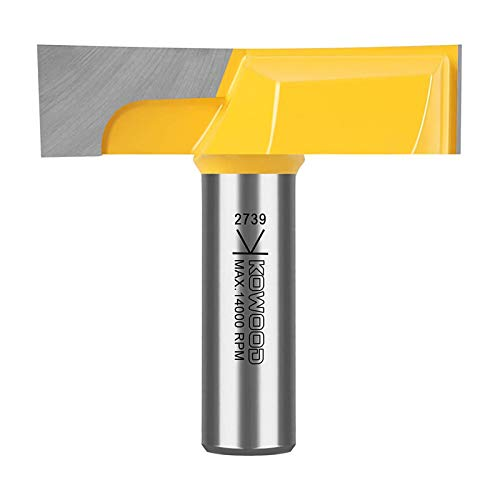 """Mortising B Dia. Bottom Cleaning Router Bit Details about  /Kowood 1//2"""" Inch Shank 2-1//4"""""""