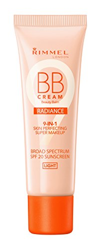 Rimmel Wake Me Up BB Cream Radiance Foundation, Light, 1 Flu