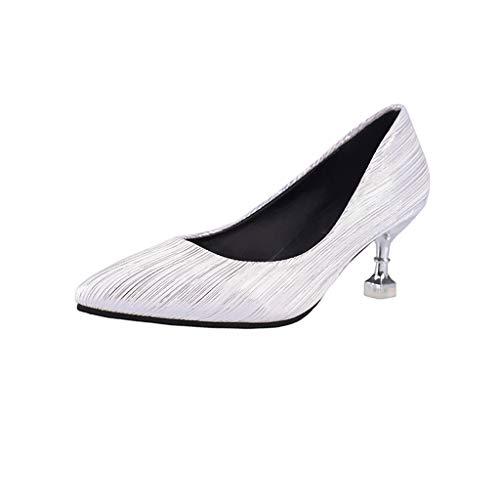 réglées haute femmes sexy pointu avec pour travail profonde chaussures une talon par peu avec bout Sandales à le bouche et xCa1Sw75q