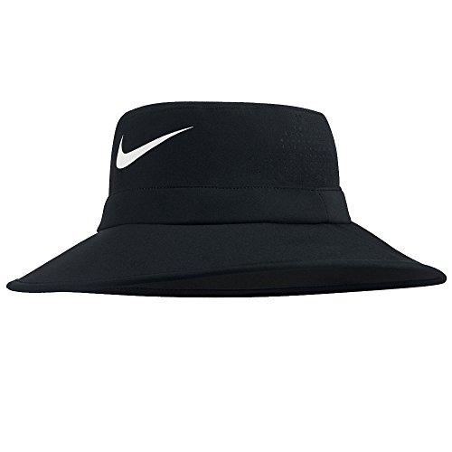 Nike Golf UV Sun Bucket Golf Hat 832687 (Small/Medium, Black)
