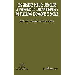Les services publics africains à l'épreuve de l'assainissement : une évaluation économique et sociale (Les cahiers de la Bibliothèque du développement) (French Edition)