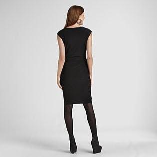 Black Ronni Womens Studded Dress Size 8