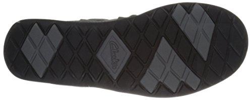 UU negro Fashion Aria M de 6 Flyer de de Clarks peltre EE mujer Zapatilla cuero para de deporte cuero vawqfCqxg