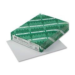 * Exact Vellum Bristol Cover Stock, 67 lbs., 8-1/2 x 11, Gray, 250 (Gray Vellum)