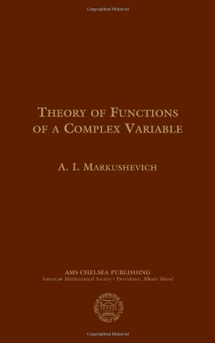 Theory of Functions of a Complex Variable, Second Edition (3 vol. set)
