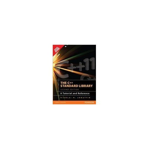 C++ Standard Library, The: A Tutorial And Reference 2Nd Edition (Englisch) Taschenbuch – 2012 Nicolai M Josuttis PE 8131791459
