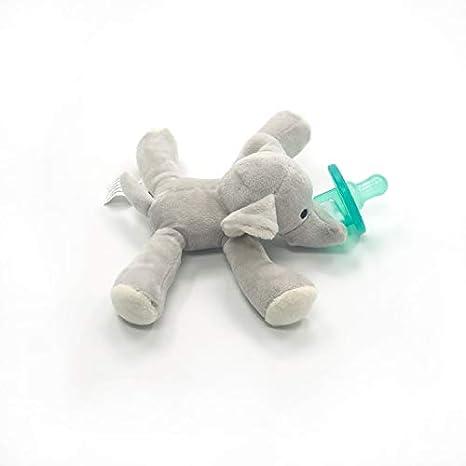 jirafa chupete titular con desmontable felpa peluche de juguete para el beb/é Elephant Jirafa chupete beb/é chupete
