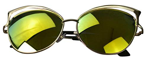 de mode soleil Lunettes Couleur2 Polaroid Cateye soleil JYR ultraviolets HD marée Lunettes de anti Femmes Lunettes AwSA0qT