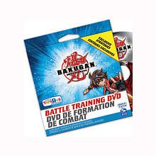 BAKUGAN EXCLUSIVE BATTLE TRAINING DVD WITH ADVANCED (Strategies Dvd)