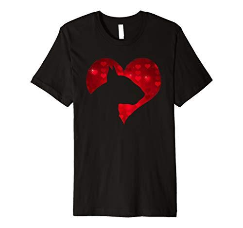Terrier Bull English - Romantic I Love My English Bull Terrier Dog Gift Shirt