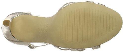 Scarpe Con Look Donna New gold Cinturino Oro Roberta 8Ewqz