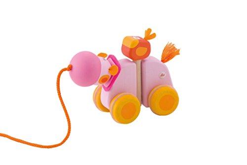 Sevi Pull Along Hippo Infant Toy