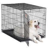 iCrates 48 x 30 Single Door w/divider panel by 1-800-petmeds offers