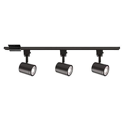 WAC Lighting H-8010/3-30-BK Charge LED Energy Star 3 Light