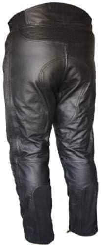 52 Noir Bikers Gear Australia Pantalon moto en cuir souple de qualit/é sup/érieure pour hommes,LT1004 EU UK 4XL