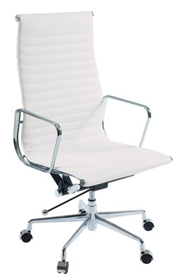 Nexus tall back home office chair white  sc 1 st  Amazon UK & Nexus tall back home office chair white: Amazon.co.uk: Kitchen u0026 Home