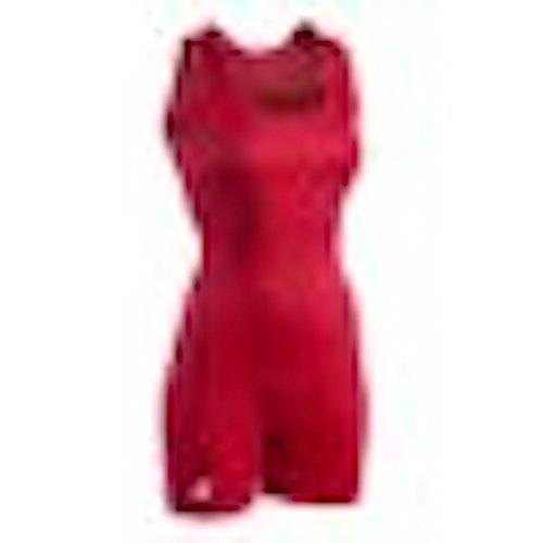 Brute Woman's Performance Cut Lycra Wrestling Singlet - Red - Woman's X-Small ()