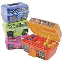 Wrmgr 88Pc Tackle Box 2PK