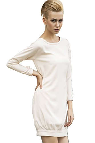 Sports Boutique White Oversized Dress Dress Billie's Off wP6nAWz