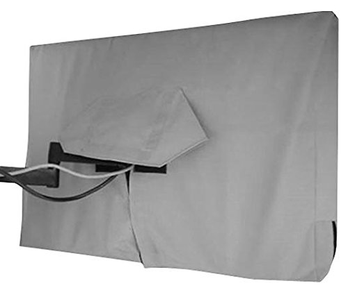 Solaire Sol 70-G Outdoor Flatscreen TV Cover for TVs up to 70'' Protects Your TV from Rain, Dust & Sun