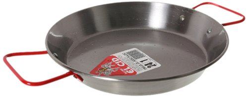 Garcima 9-1/2-Inch Carbon Steel Paella Pan, 24cm by Garcima