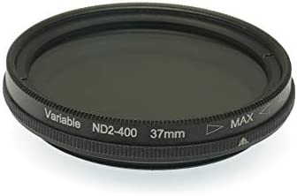 Gadget Place ND2 to ND400 Variable Neutral Density Filter for Panasonic Lumix G 42.5mm F1.7 ASPH Power OIS