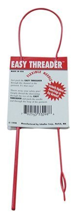 Needle Easy (Easy Threader Flexible Needle Drawstring replacement and craft tool by schaller)