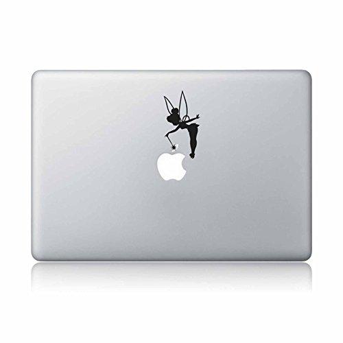 Price comparison product image Tinker Bell Fairy Peter Pan Disney Macbook Laptop Decal Vinyl Sticker Apple Mac Air Pro Laptop sticker