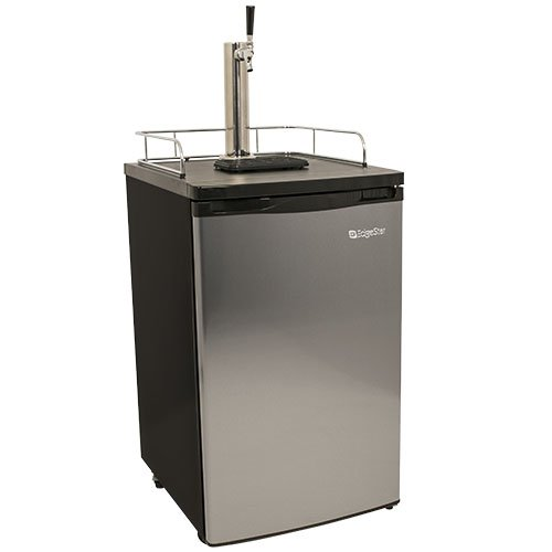 EdgeStar Full Size Kegerator and Keg Beer Cooler - Stainless Steel
