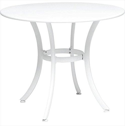 ニチエス TAPAS タパス ガーデンテーブル φ90 / ホワイト B071QXF675
