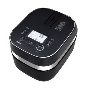 Toshiba vacuum IH rice cookers (cook 5.5 Go) Gran black charcoal stove this Hagama (vacuum IH warm kettle) RC-10ZPH-K