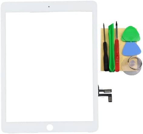 White Touch Screen Digitizer Panel for Ipad Air 5th Tools