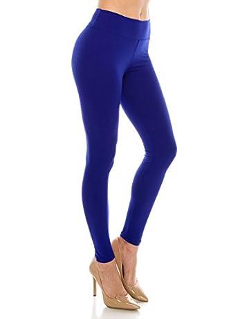 bff434da087ad ALWAYS Leggings Women High Waist - Premium Buttery Soft Yoga Workout  Stretch Solid Pants