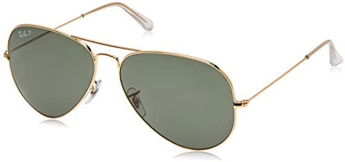 Ray-Ban Rb3025 Classic Polarized Aviator Sunglasses