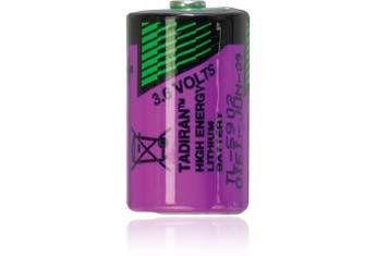 1/2 AA High Capacity 3.6 Volt Lithium Battery - Pressure Contact