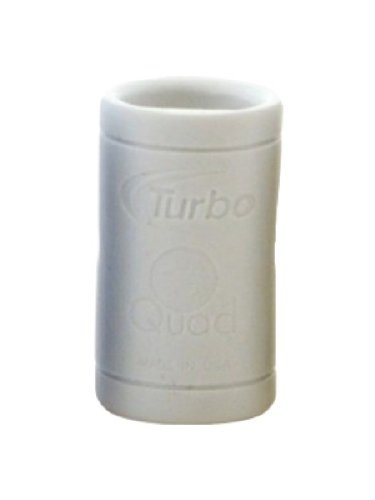 Turbo Grips Ms. Quad Fingertip Grip (Bag of 10), White, 5