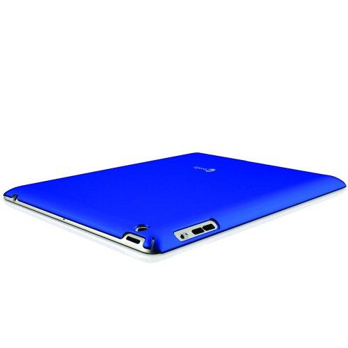 Macally Snap-2MR Schutzhülle für Apple iPad 2 metallisch rot
