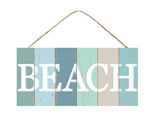 (GiftWrap Etc. Wooden Beach Home Decor Sign - 12.5