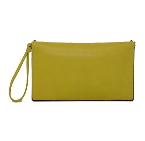 Studs Clutch Yellow Diva Women Haute Star Bag Beige for qwX7nIOU4