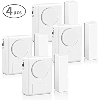 Amazon Com Lingsfire Magnetically Triggered Alarms For