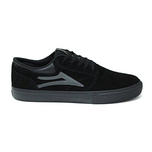 Lakai Griffin Black/Black Suede skateboard